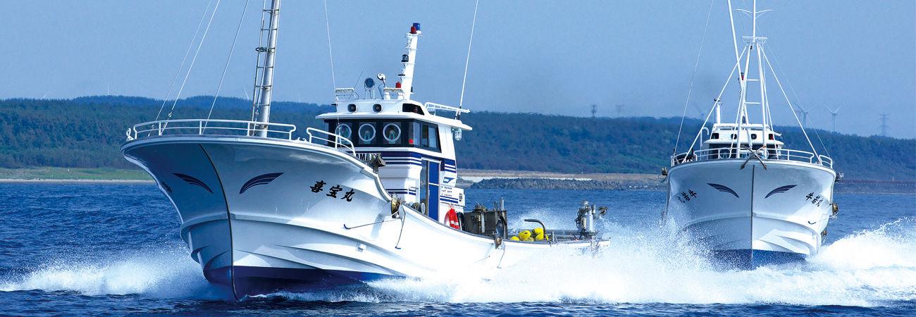 活躍するヤマハ漁船 - 歴史と技...
